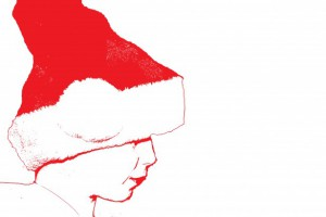 santa-silhouette-party-isolated